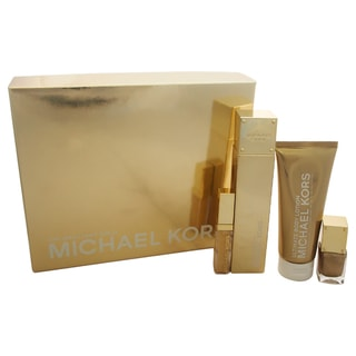 Michael Kors 24K Brilliant Gold Women's 4-piece Gift Set