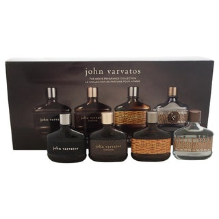 John Varvatos Coffret Collection Men's 4-piece Mini Gift set