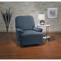 Coverworks Dahlia Damask 1 Piece Stretch Wing Chair