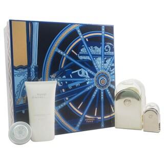 Hermes Voyage D'Hermes Unisex 4-piece Gift Set