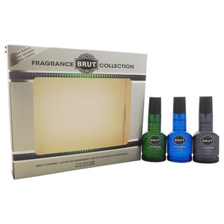Brut Fragrance Collection Men's 3-piece Gift Set