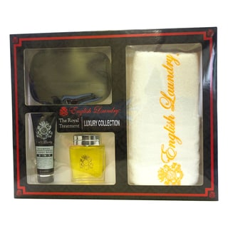 English Laundry The Royal Treatment Luxury Collection Men's 4-piece Gift Set