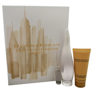Donna Karan Liquid Cashmere White Women's 3-piece Gift Set