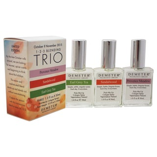 Demeter Blending Trio Unisex 3-piece Gift Set