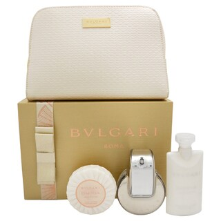 Bvlgari Omnia Crystalline Women's 4-piece Gift Set