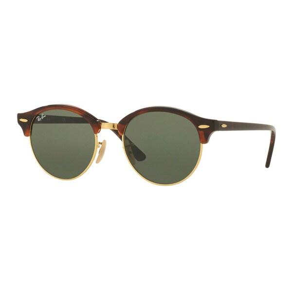 42ee10245d Ray-Ban Clubround Classic Sunglasses Tortoise  Green Classic 51mm - Tortoise