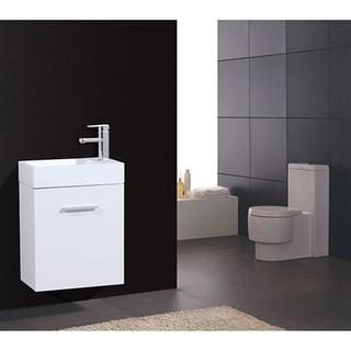 KubeBath Bliss 18-inch Single-sink Bathroom Vanity