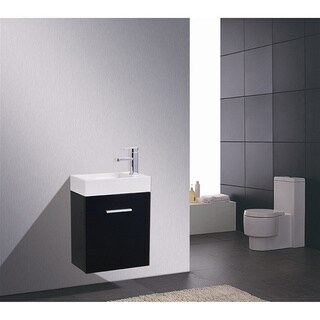 KubeBath Bliss 18-inch Single-sink Bathroom Vanity (4 options available)