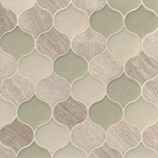Rain Drop Pattern Chiffon Stone and Glass Mosaic Tile (Pack of 11 Sheets)|https://ak1.ostkcdn.com/images/products/11984285/P18865309.jpg?impolicy=medium