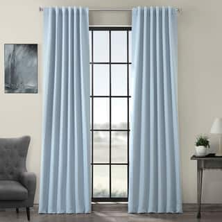 Exclusive Fabrics Thermal Insulated Solid Blackout 108-inch Curtain Panel Pair|https://ak1.ostkcdn.com/images/products/11984311/P18865340.jpg?impolicy=medium