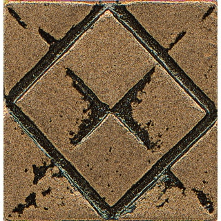 Bedrosians Matterix City Bronze Metal Resin 1-piece Tile