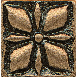 Jasmine Bronze Metal Resin 1-piece Tile