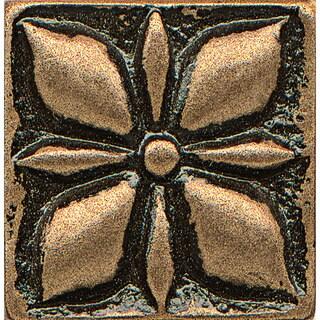 Jasmine Bronze Metal Resin 1-piece Tile