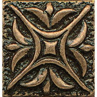 Rising Star Bronze Metal Resin 1-piece Tile