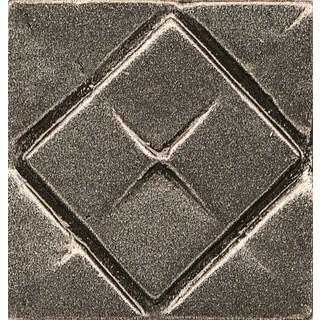 Bedrosians Matterix City Brushed Nickel Metal Resin 1-piece Tile