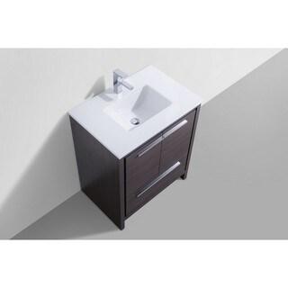 KubeBath Dolce 30-inch Single Sink Bathroom Vanity