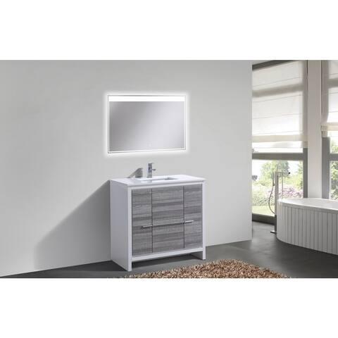 KubeBath Dolce 36-inch Single Sink Bathroom Vanity