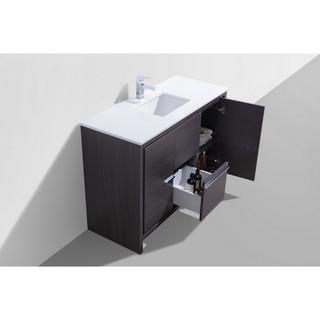 KubeBath Dolce 48-inch Single Sink Bathroom Vanity