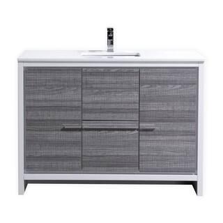KubeBath Dolce 48-inch Single Sink Bathroom Vanity|https://ak1.ostkcdn.com/images/products/11984661/P18865516.jpg?impolicy=medium