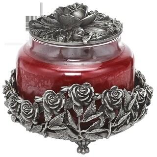 Rose Large Candle Jar/Bottle Holder