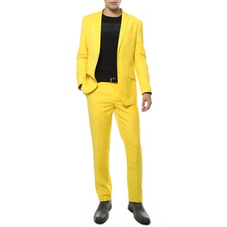 Link to Ferrecci Premium Mod Bright-colored 2-piece Slim-fit Suit Similar Items in Suits & Suit Separates