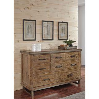 Signature Design by Ashley Dondie Warm Brown Dresser