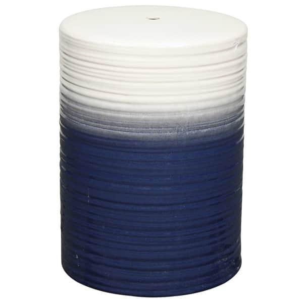 Stupendous Shop Multicolor Swirl Ceramic Garden Stool Free Shipping Ncnpc Chair Design For Home Ncnpcorg