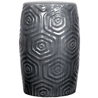 Essentials Jazz Black Garden Stool Free Shipping Today
