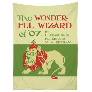 Sharp Shirter Wizard of Oz Classic Art Cover Illustration Tapestry