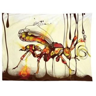 Sharp Shirter Wasp/ Illustration/ Tapestry