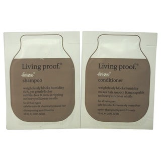 Living Proof No Frizz 0.33-ounce Shampoo & Conditioner Duo