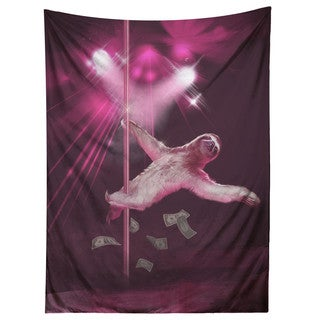 Sharp Shirter Stripper Sloth/ Tapestry