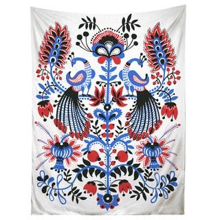 Sharp Shirter Peacocks/ Flowers/ Illustration/ Tapestry