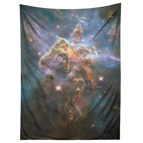 Sharp Shirter Mystic Mountain Nebula/ Space/ Tapestry