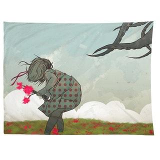 Sharp Shirter Flowers/ Octopus/ Tentacles Illustration/ Tapestry