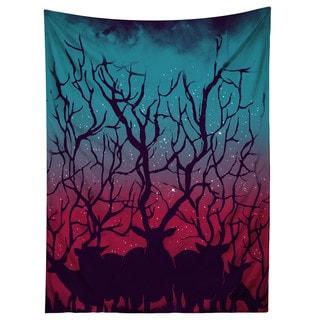 Sharp Shirter Deer Forest Art Tapestry