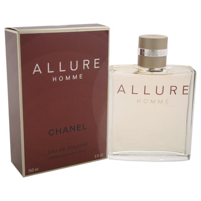 Chanel Allure Homme Men's 5-ounce Eau de Toilette Spray, ...