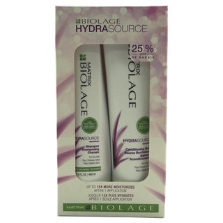 Matrix Biolage HydraSource Shampoo & Conditioning Balm Duo