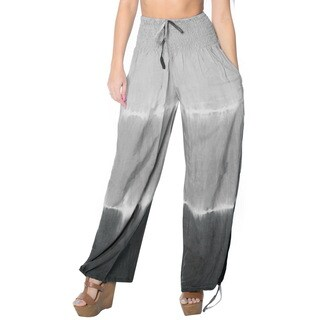 La Leela Women Soft Rayon Lightweight Sleepwear Casual Lounge Pajama Pant Grey