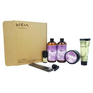 Wen Hair Care 6-piece Lavender Deluxe Kit
