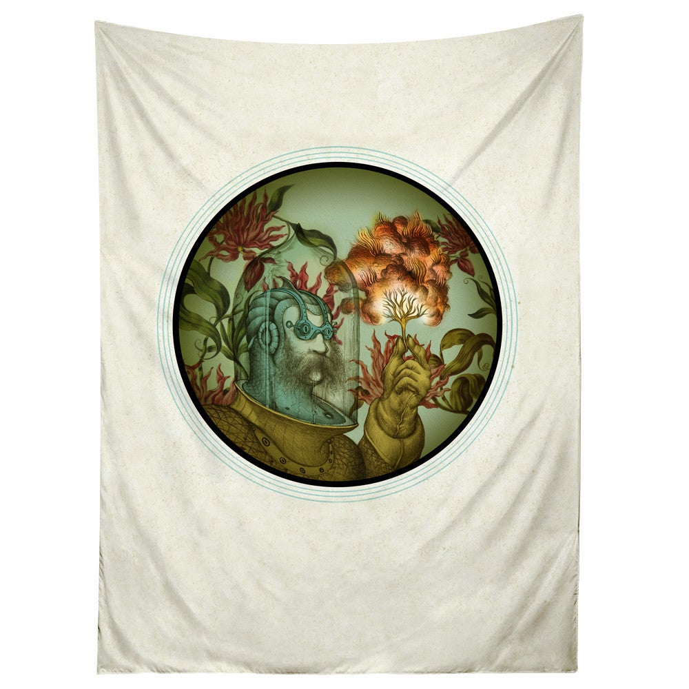 Sharp Shirter Caliope Tapestry/ Nautical Diver Tapestry (60 x 80 inches)