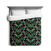 Sharp Shirter Welcome To The Jungle/ Giraffe and Tiger/ Duvet Cover/ Printed in Usa