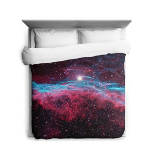 Sharp Shirter Veil Nebula Duvet Cover