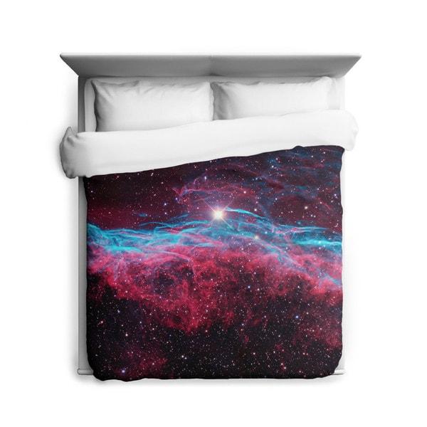 Sharp Shirter Veil Nebula Duvet Cover