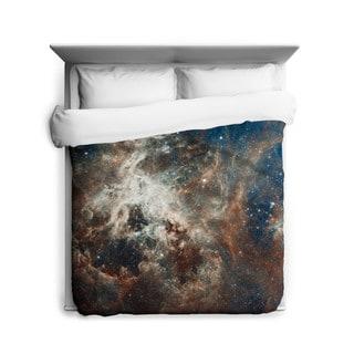 Sharp Shirter Turbulent Tarantula Nebula Duvet Cover