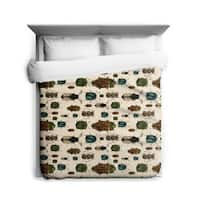 Sharp Shirter March of The Beetles/ Duvet Cover