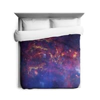 Sharp Shirter Milkyway Galaxy/ Outer Space Duvet Cover