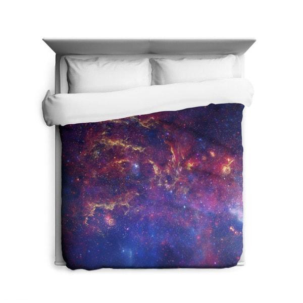 Sharp Shirter Milkyway Galaxy/ Outer Space Duvet Cover
