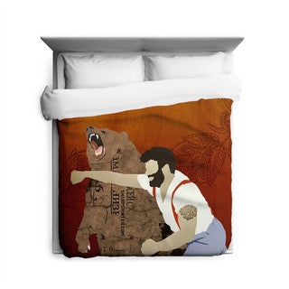 Sharp Shirter Haymaker Duvet Cover