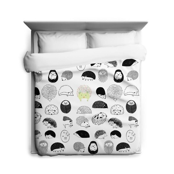 Sharp Shirter 20 Hedgehogs Duvet Cover